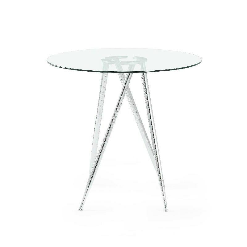 Bar Table Legs Chrome