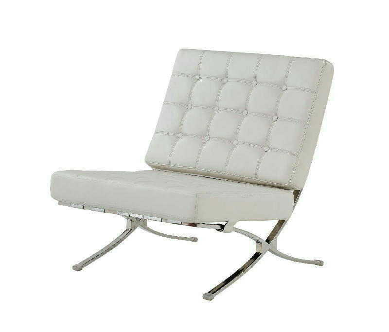 Accent Chair - White
