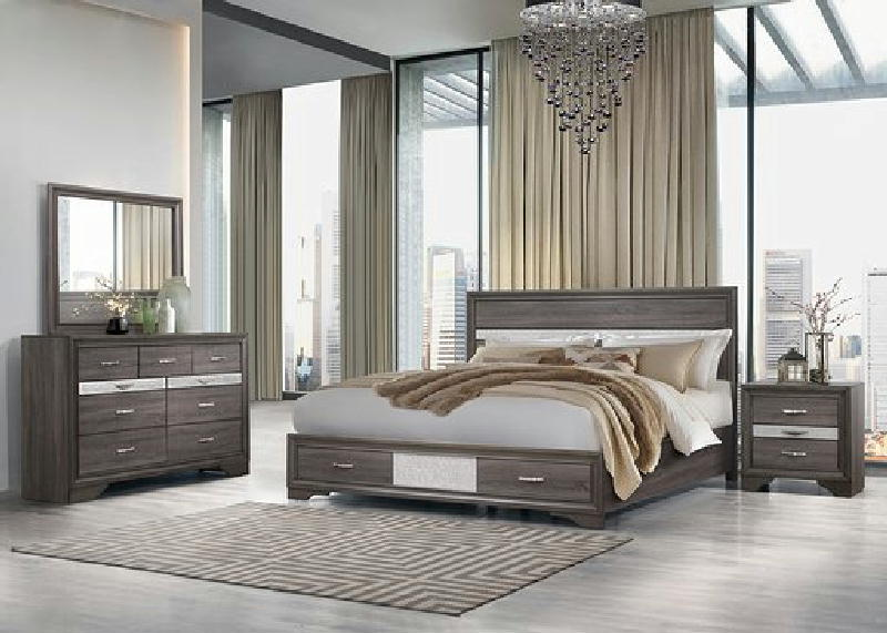 5 Pcs King Storage Bedroom