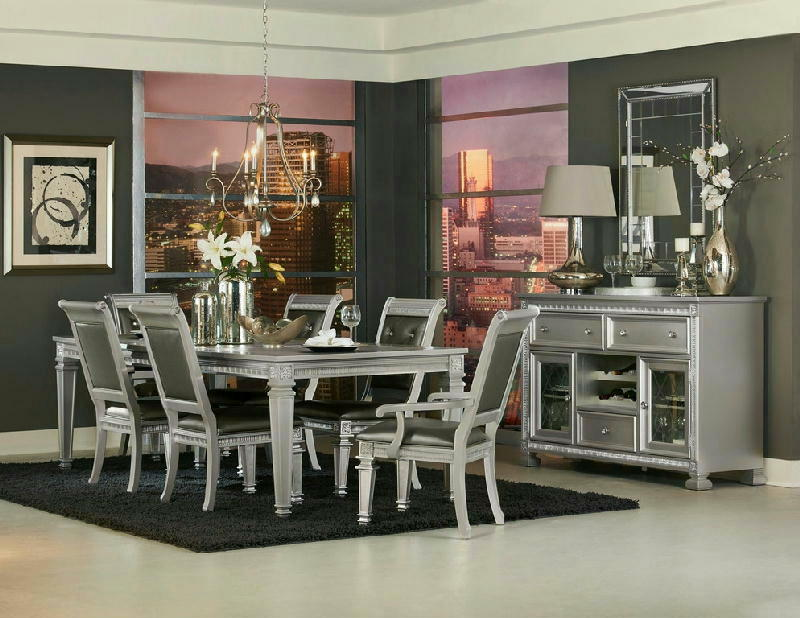 5 Pcs Dining Room wServer