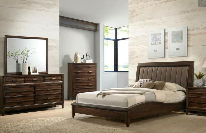 5 Pcs King Platform Bedroom