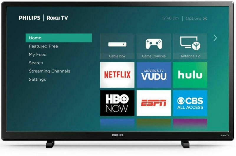 32 inch 720p HD ROKU LED TV