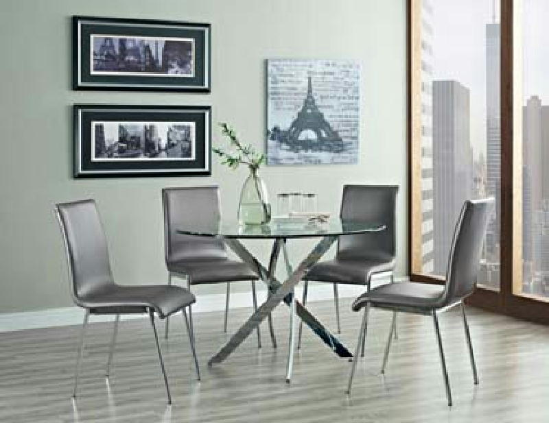 Dinette and 4 chairs