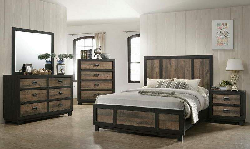 5 Pcs Queen Panel Bedroom
