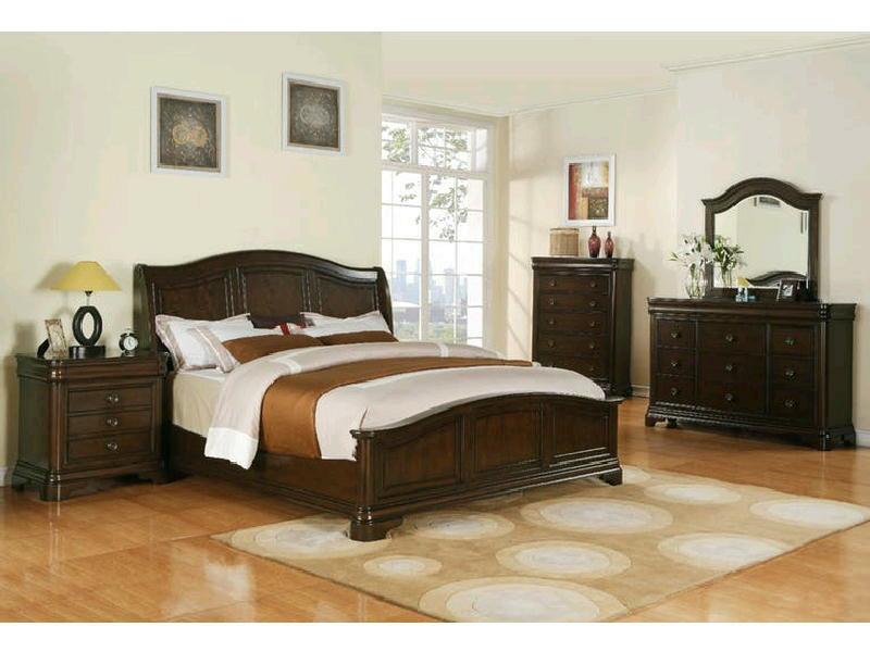 5 Pcs King Sleigh Bedroom