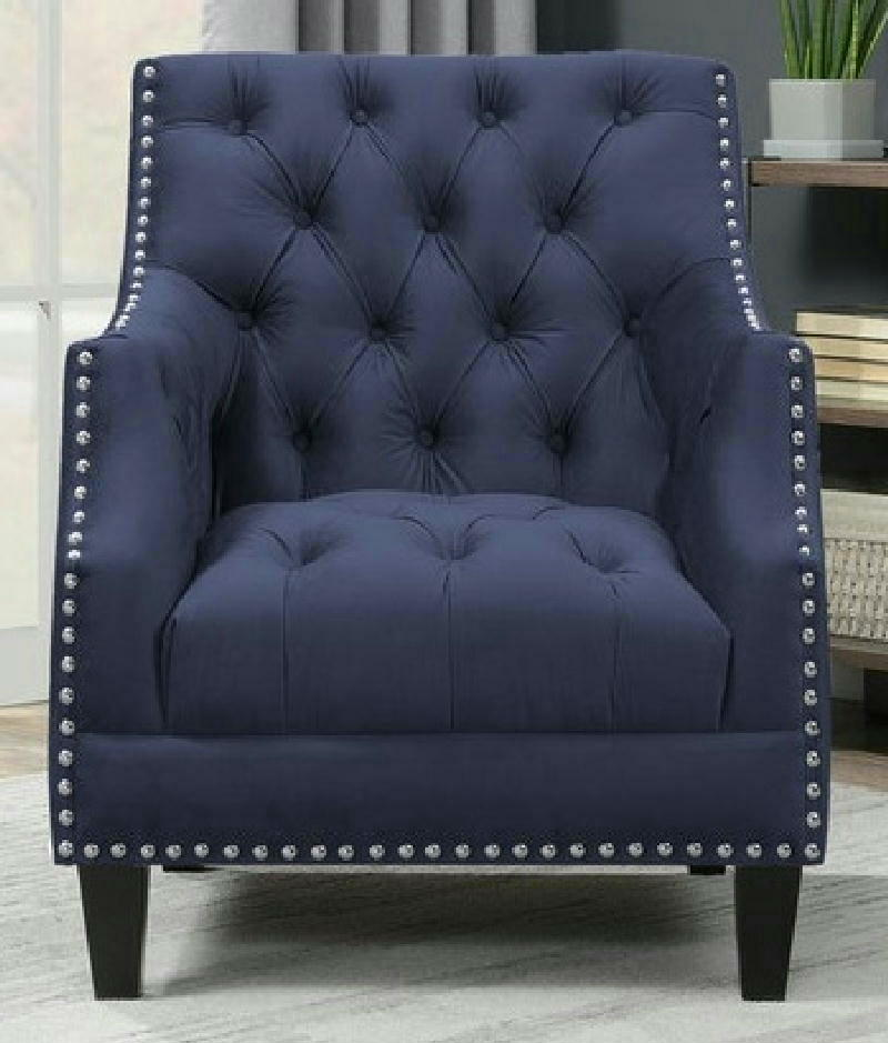 Accent Chair - Navy