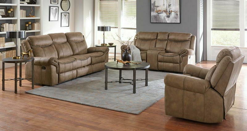 Recl Sofa & Loveseat