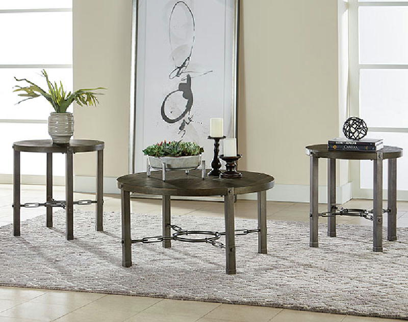 Cocktail & 2end tables