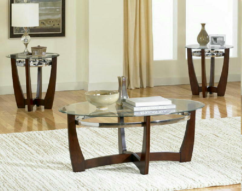 Cocktail & 2 End Tables