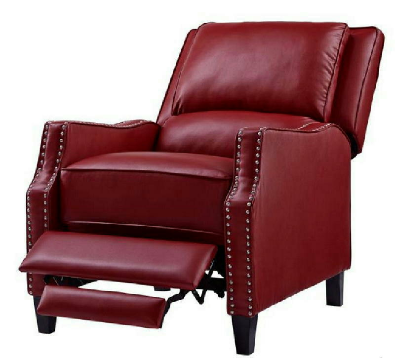 Recliner Push Back Red