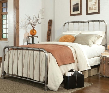 SPOTwin Metal Bed