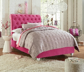 SOTwin Upholstered Bed