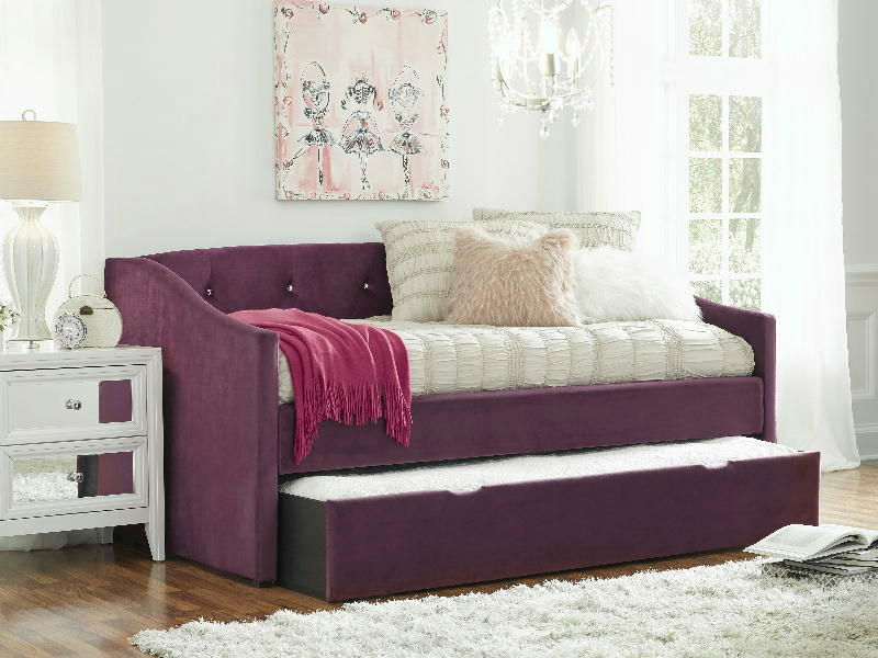 Twin Daybed Arms wSlat Roll