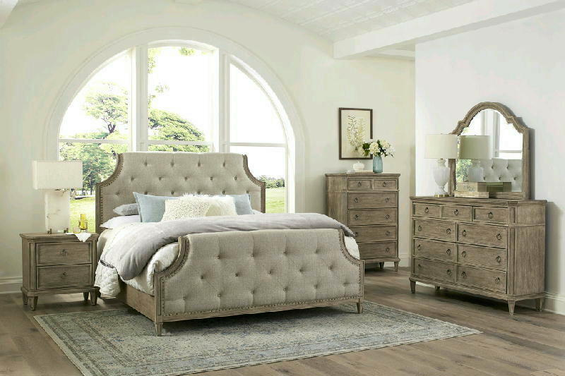 5 Pcs Queen Uph Bedroom