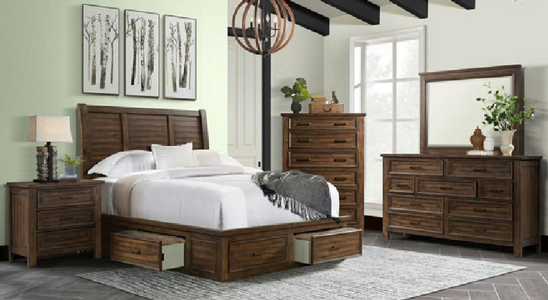5 Pcs Storage Queen Bedroom
