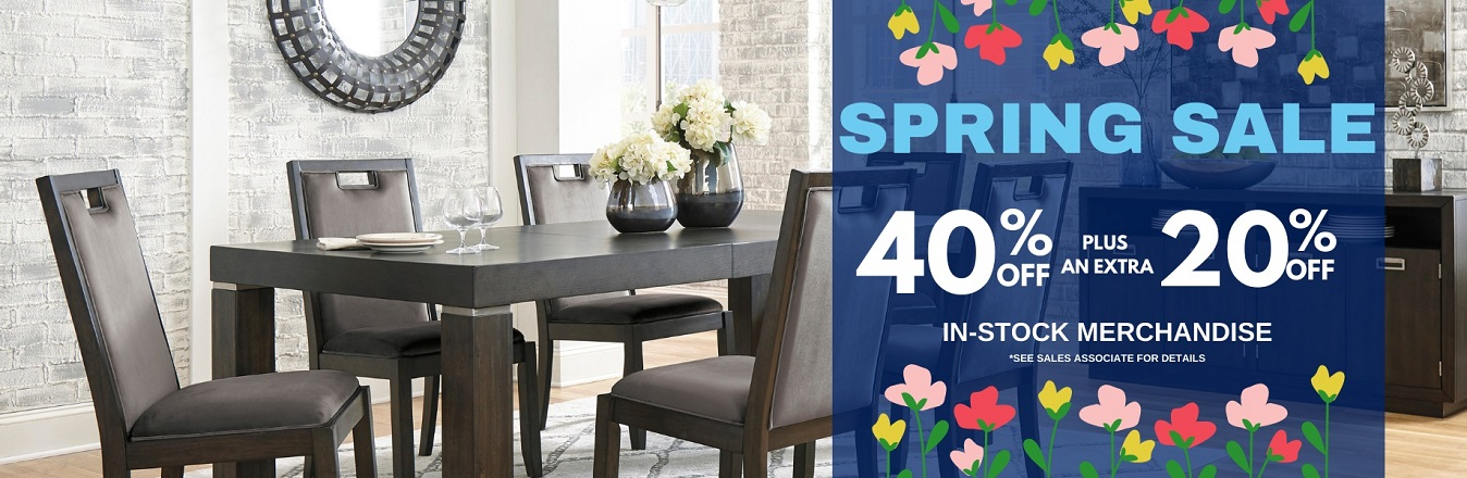 Grand Furniture 40% Off Plus An Extra 20% off Spring sale